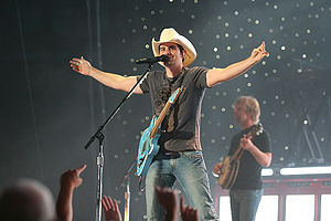 American country musician Brad Paisley.