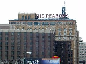English: Peabody Hotel; Memphis, TN