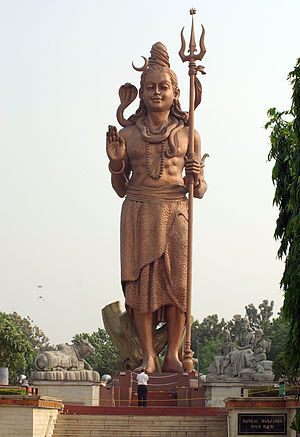 Statue of Lord Shiva in Delhi Français : Statu...