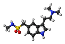 Sumatriptan molecule