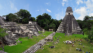 English: Tikal Mayan ruins Guatemala 2009 this...