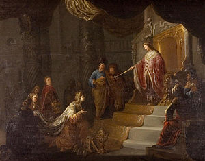 Solomon and the Queen of Sheba.