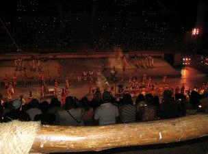 English: Gran Tlachco stage