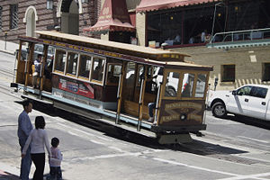 Cable Car in San Francisco - double-ended car ...