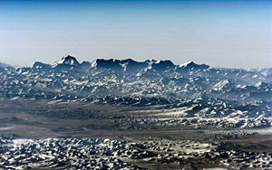 Himalayan Horizon From Space