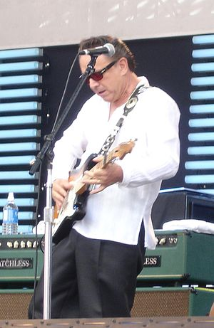 Jimmie Vaughan performing at the Crossroads Gu...