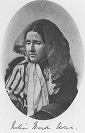 Julia Ward Howe, the founder of Mothers Peace Day