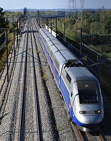 Photographie d'un TGV Duplex.