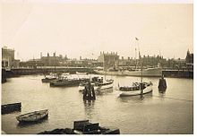 Lowestoft's Yacht Basin in 1929