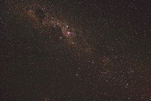 Milky Way southern hemisphere, revised picture