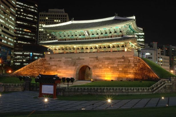 Namdaemun Buildings