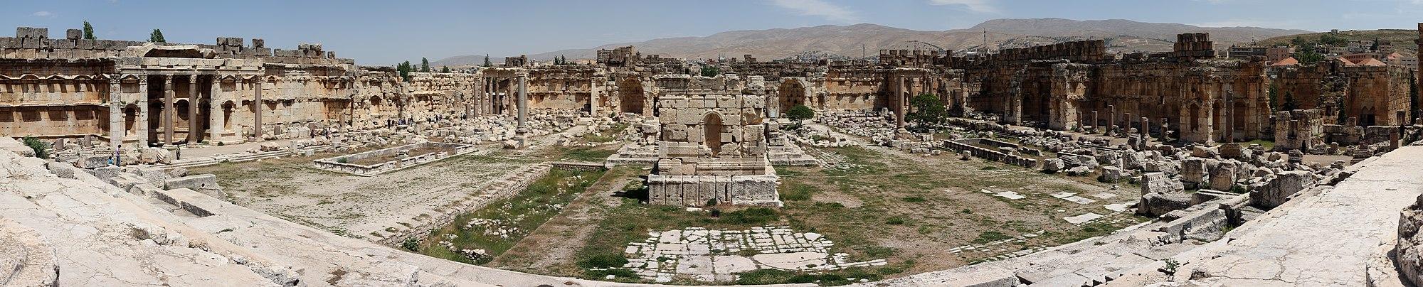 Great Court of Baalbek