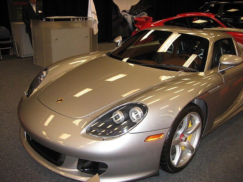 File:Porsche carrera gt front.jpg