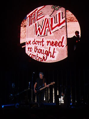 """Roger Waters playing """"Brick In The Wall p..."""