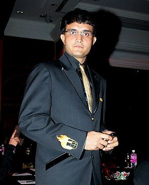 Sourav Ganguly at the opening of the mascot of...