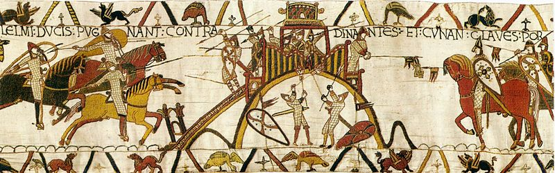 File:Tapestry by unknown weaver - The Bayeux Tapestry (detail) - WGA24162.jpg