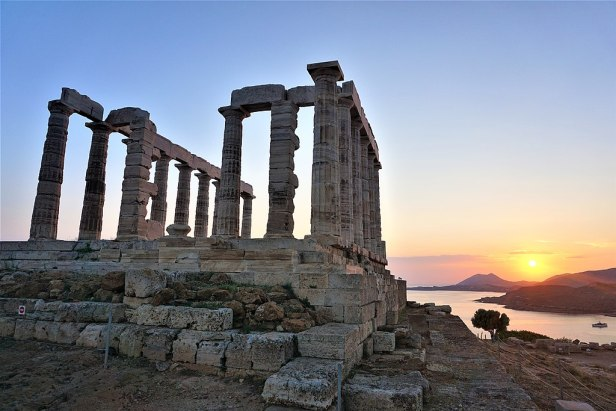 Temple of Poseidon at Sounion - Joy of Museum