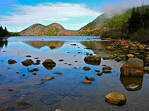 English: Acadia National Park (Bubble Pond), Maine