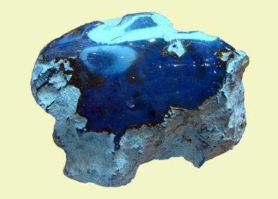 Ambre bleu dominicain 21207
