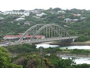 A mini version of the Sydney bridge? Bridge in...