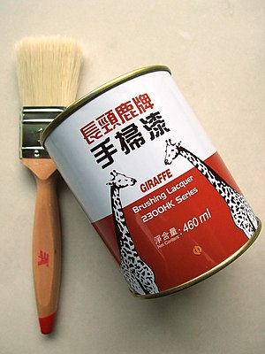 Brushing lacquer (460ml) by the China Paint Ma...