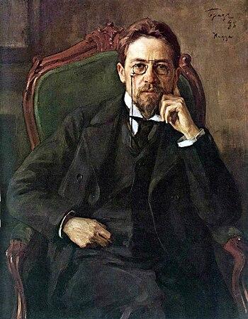 Portrait of Anton Pavlovich Chekhov
