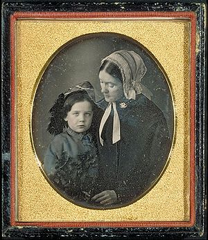 English: Daguerreotype of Lidian (real name: L...