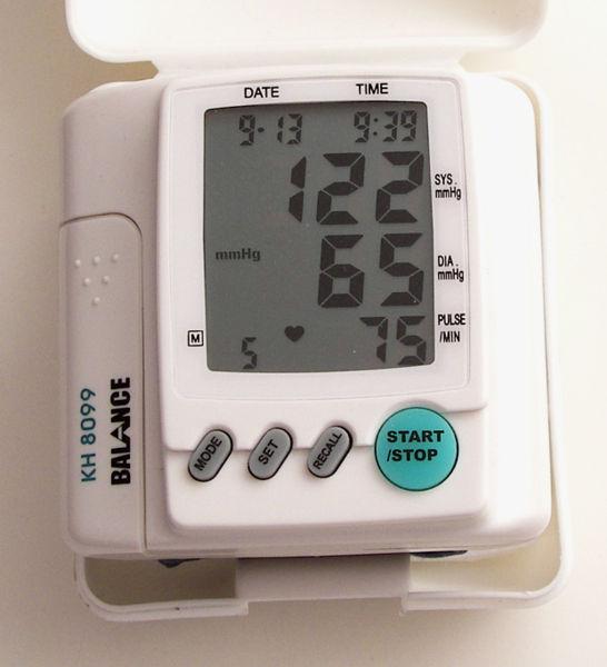File:Digital Blood Pressure Monitor.jpg