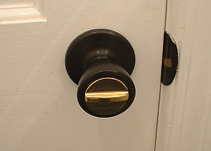 Door Knob with Lock USA