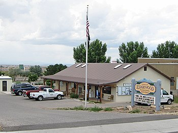 English: Edgewood (New Mexico) Municipal Offic...