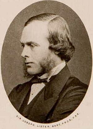 English: Joseph Lister, 1st Baron Lister (5 Ap...