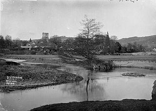 Leintwardine from Brockley Meadow