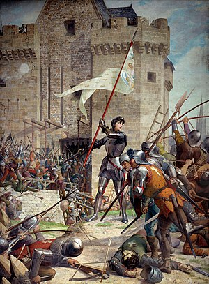Joan of Arc at the Siege of Orleans by Jules Lenepveu