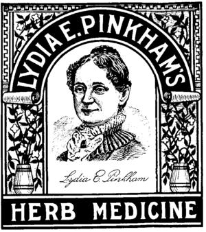 Lydia Pinkham's Herb Medicine (circa 1875) rem...