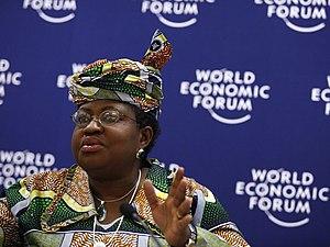 English: Ngozi Okonjo-Iweala at the 2007 World...