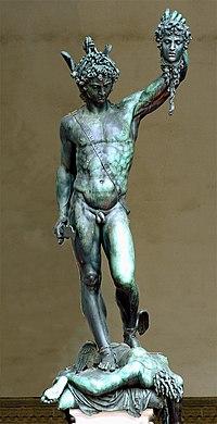 PERSEO (1554) Benvenuto Cellini. (1500-1571)Wikimedia Commons.