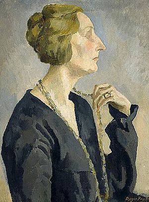 English: Portrait of Edith Sitwell