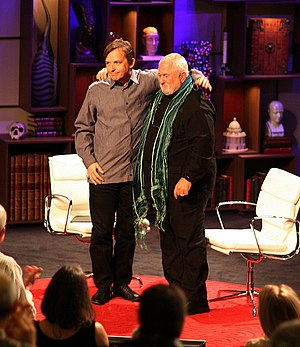 English: Chris Anderson and Richard Wurman get...
