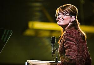 Alaska Ex-Governor Sarah Palin at Dover, New Hampshire