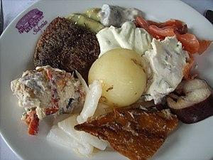 smörgåsbord), Swedish buffet