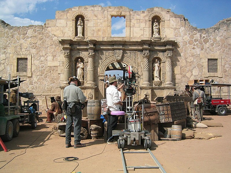 Alamo movie set