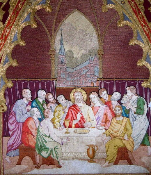 File:Amandus Vaandel Confrerie Sacrament detail.jpg