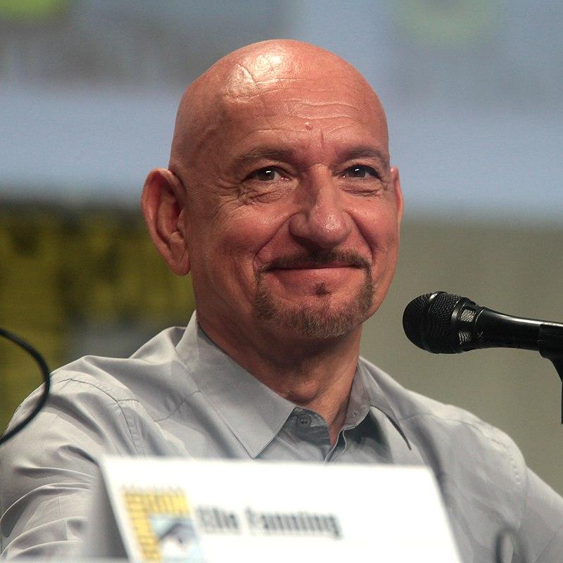 Ben Kingsley, The Boxtrolls, 2014 Comic-Con 1 (crop).jpg