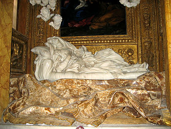 Gian Lorenzo Bernini's statue of the Blessed L...