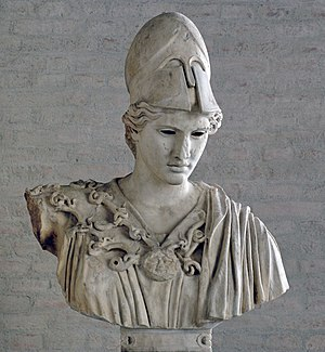 "Bust of Athena, type of the ""Velletri Pallas"" ..."