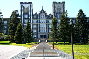 Tower Hall at the College of St Scholastica at...