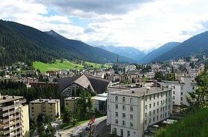 English: Davos, Graubünden