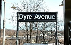 The Eastchester-Dyre Avenue subway station, in...