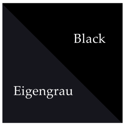 eigengrau and black colors comparison