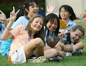 English: KIS International School Students